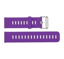 Сменный браслет 22мм (Amazfit GTR 47mm & Haylou LS05) однотонный (Темно-фиолетовый)