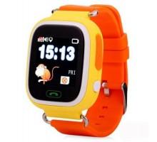 Часы Smart Watch Q90 Детские GPS Оранжевые