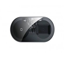 Беспроводное зарядное устройство WXJK-A01 2 в 1 (телефон + APods PRO) кабель Type-C Baseus прозрачн.