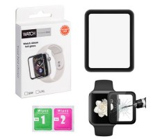 Защитное стекло Apple Watch 3D полная проклейка 42mm