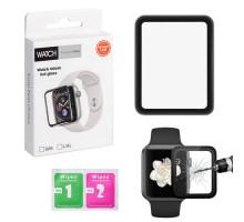 Защитное стекло Apple Watch 3D 44mm (full glue)