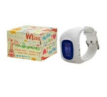 Часы Smart Watch Детские Q50 LBS+LCD Белые
