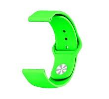 Сменный браслет 22мм (Amazfit GTR 47mm & Haylou LS05) однотонный (Салатовый)