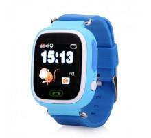Часы Smart Watch Q90 Детские GPS Голубые