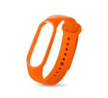 Ремешок для Mi 5 band silicon loop Orange