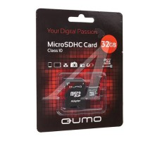 Micro SD 32GB QUMO Class 10