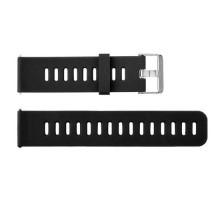 Сменный браслет 20мм (Amazfit GTR 42mm, Bip, Haylou LS01, LS02) однотонный (Черный)