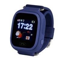 Часы Smart Watch Q90 Детские GPS Синие